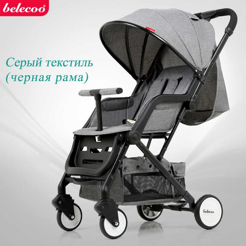 Beleeco-novo carrinho de bebê rússia frete grátis carrinhos de bebê