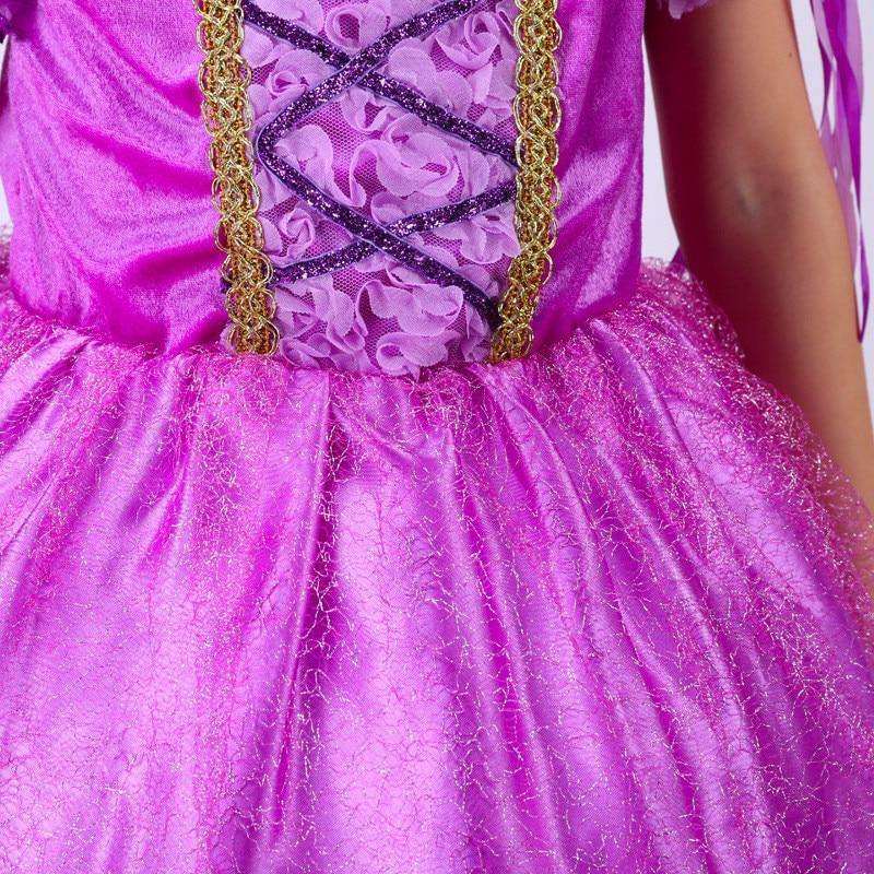 Púrpura Sofia Princess Cosplay Viste El Primer Traje Niños Bebé ...