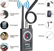 Cámara multifunción antiespía K18, 1MHz 6,5 GHz, Detector GSM de errores de Audio, lente de señal GPS, rastreador RF, detección de productos inalámbricos