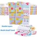 8pcs/lot Nursing Towel Single Small Square Face Towels Gerber Baby Bath Towels Cotton Newborn Bibs Baby Wipes Soft Wash Cloth