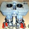 Ca250 QJ250-3A cilindro de la motocicleta de montaje conjunto moto Scooter cilindro anillos de pistón Kit