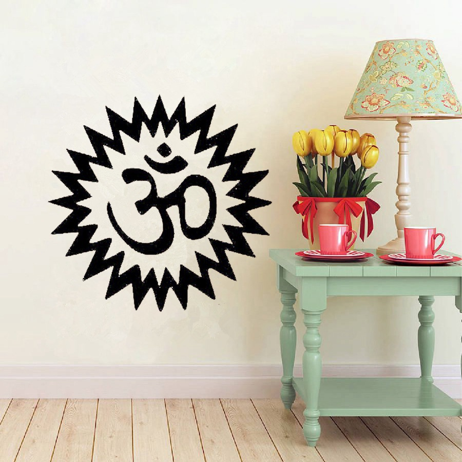 Living Room Yoga Studio Coogee: Aliexpress.com : Buy Yoga Wall Art Vinyl Sticker Wall