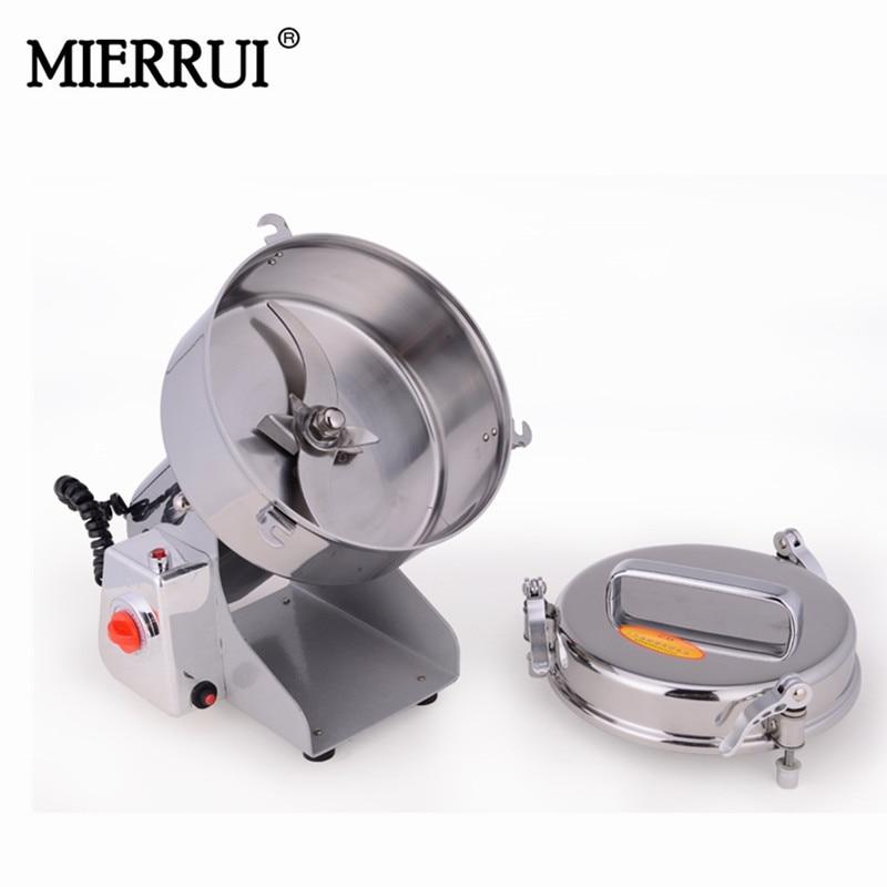 Chinese medicine grinder swing panacea 1500 g stainless steel food mill whole grains ultrafine powder machine Мельница