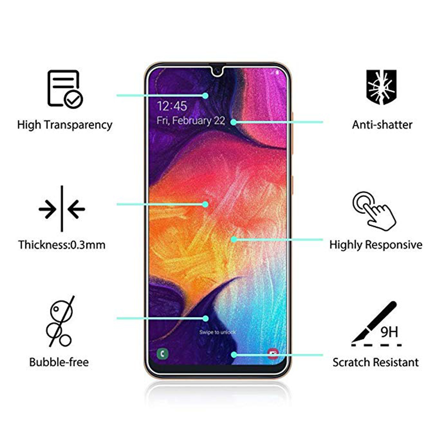 Tempered-Glass-For-Samsung-Galaxy-A10-A30-A50-A70-Screen-Protector-Safety-Protective-Cover-Case-Film (1)