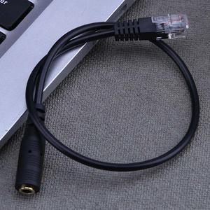 Image 3 - 1pc 3.5 millimetri Linea Audio Martinetti Femmina a Maschio RJ9 Plug Adapter Convertitore Cavo PC Computer Auricolare Telefono Connettore cavo di Filo