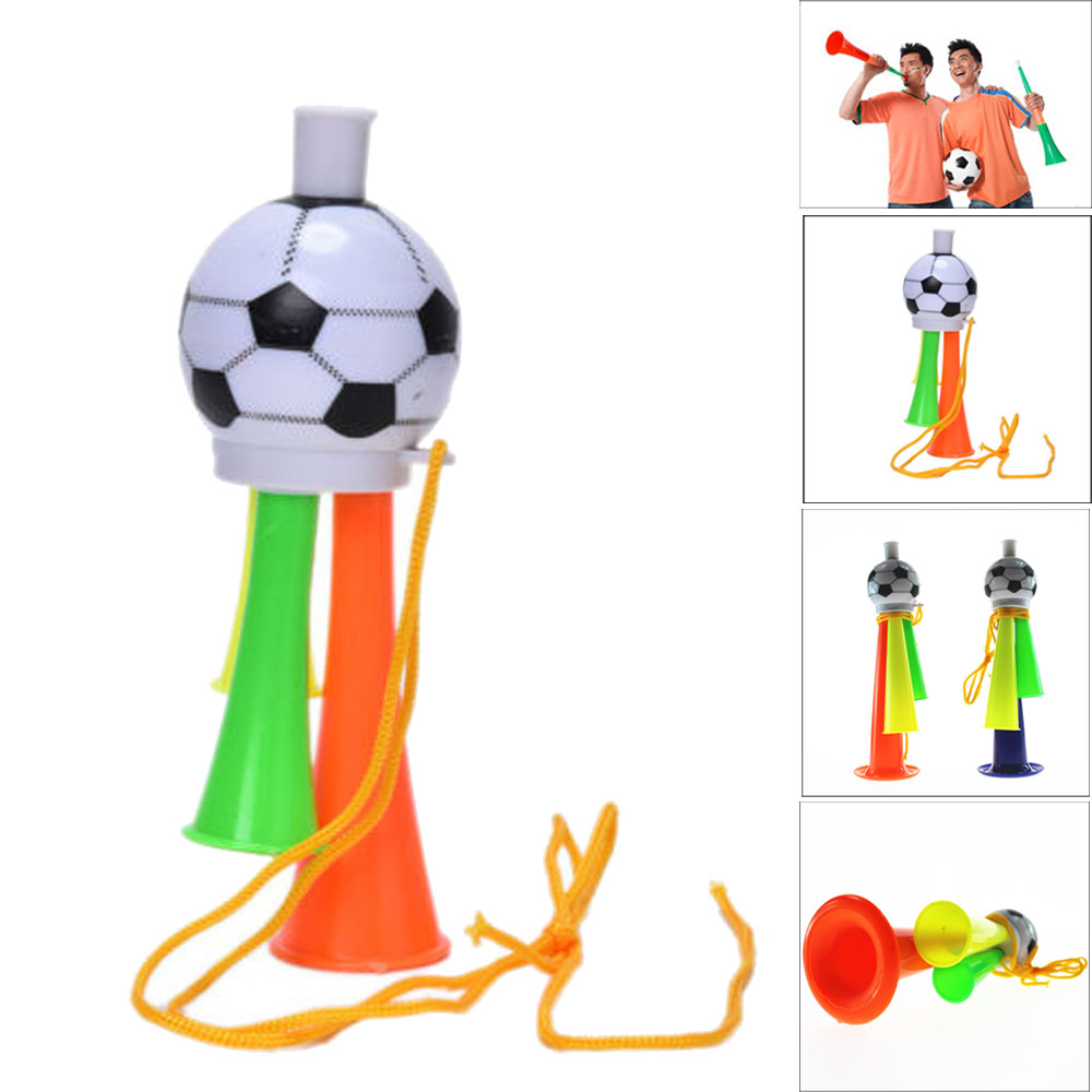 Music Instruments Toys Funny Game Cheer Football Horn Hooter Trumpet Music Toys For World Cup P# dropship