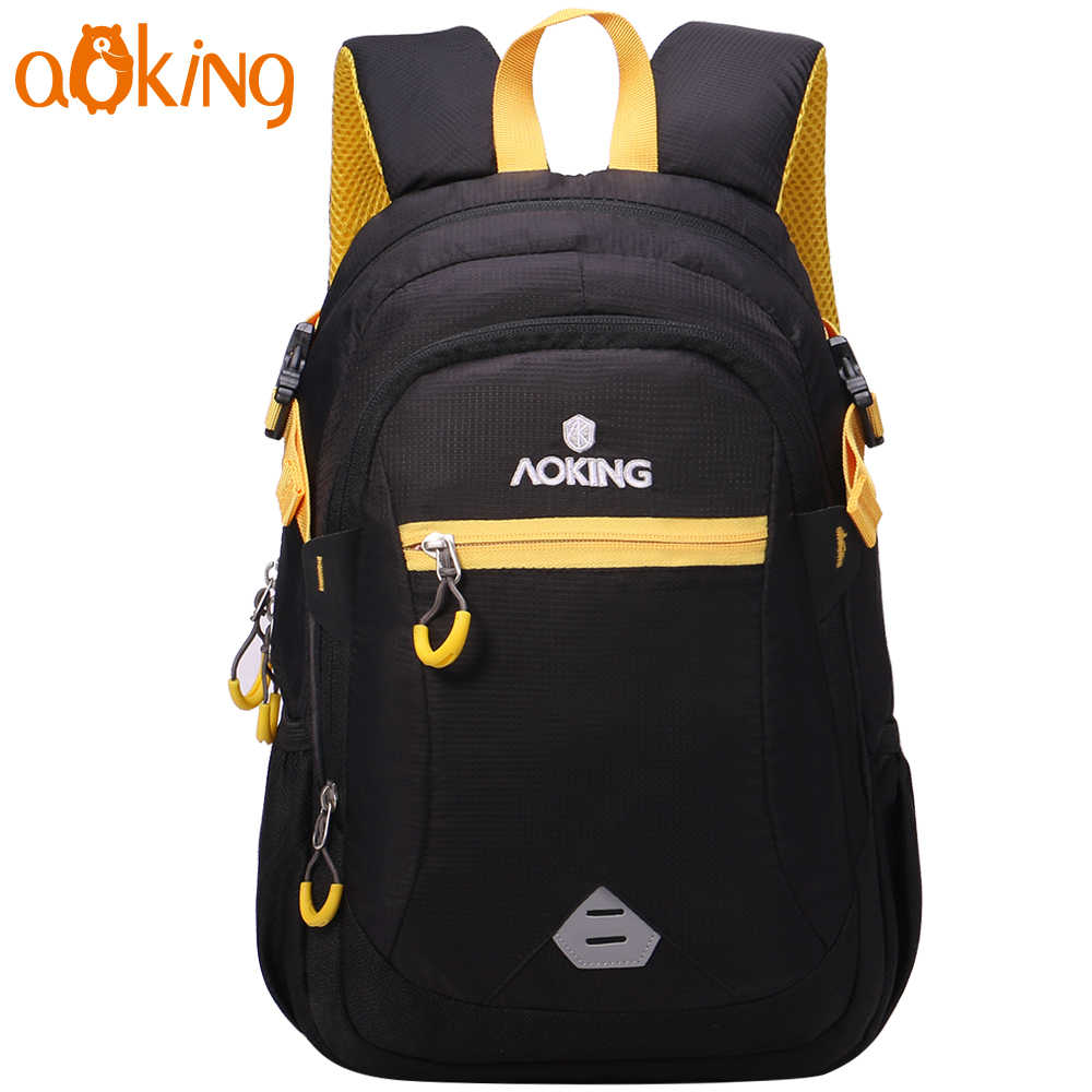Aoking Children School Mini Backpack For Boy And Grils Lightweight Daily Cute Causal Waterproof Nylon Kids Shoulders Backpack