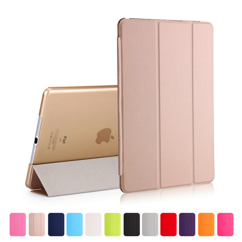 De lujo de la tableta a prueba de golpes a prueba inteligente cuero tapa de la caja soporte para Apple Ipad aire 9,7 pulgadas 2017 de 2018 para I Pad 5 carcasa para IPad5