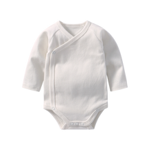 Baby Girl Onesie Bodysuits Long Sleeve Bodysuit for Newborns Cotton Body for Babies Child Boy Twins Clothes White Baby Clothes(China)