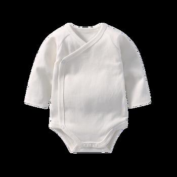 Mono de bebé niña bodies de manga larga Mono para los recién nacidos de  algodón para bebés niño gemelos ropa blanca ropa de bebé 949666e98309