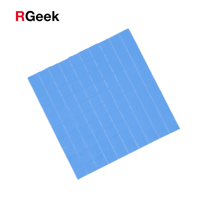 Computer & Office New 100mm*100mm*0.5mm Gpu Cpu Heatsink Cooling Conductive Silicone Pad Thermal Pad High Quality Reasonable Price