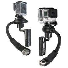 1 шт. 3 цвета c-изогнутый видео стабилизатор Мини Ручной Стабилизатор камеры Steadicam Gimbal для GoPro Hero 4/3+/3/2/1