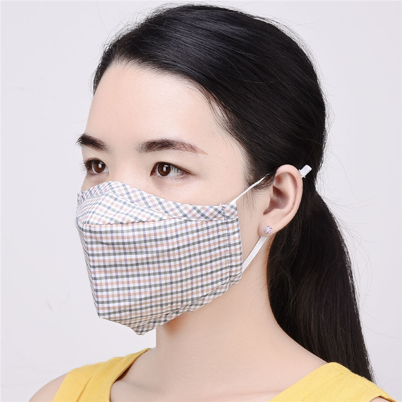 1pc Haze Mouth Mask Cotton Reusable Pm 2 Cover Unisex Anti 5