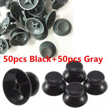 Analog Cover 3D Thumb Sticks Joystick Thumbstick Mushroom Cap Cover For Microsoft Xbox 360 XBOX360 Controller(50 Black+50 Gray)