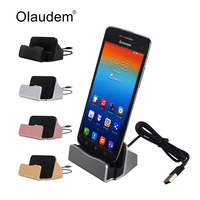 Desk Charger Docking Station Cradle Holder Micro USB Charging Sync Dock For Samsung HTC LG Sony