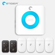 Home Security Wireless indoor strobe alarm ring siren Etiger ES-S6A