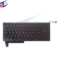 "FR France French keyboard for macbook A1286 pro 15"" FR keyboard layout without backlight backlit 2009 2010 2011 2012year"