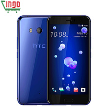 Original HTC U11 4G LTE Mobile Phone 6GB RAM 128GB ROM Snapdragon 835 Octa Core 5.5″ IP67 Waterproof  2560x1440p Bar Phone