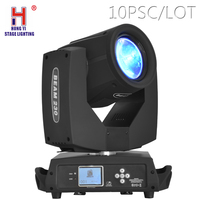 LED Moving Head Beam Spot Lyre Light 7R 230W Rotation Prism Effect Moving Head for DJ Stage Nightclub Party Lighting 10pcs/lot