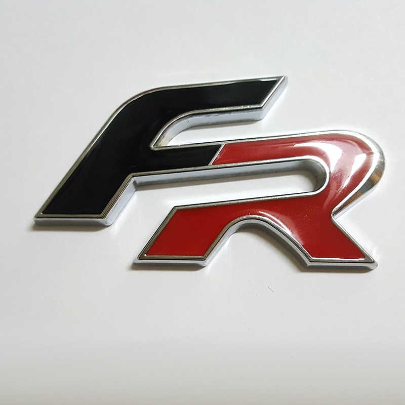Autocollant style voiture 3D FR pour Seat leon FR Cupra Ibiza Altea Exeo autocollant voiture en métal autocollants pour Badge emblème FR