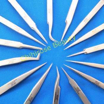 10 pcs/lot VETUS Tweezers Anti-static Stainless Steel Tweezers Repairing Maintenance Tools Free Shipping