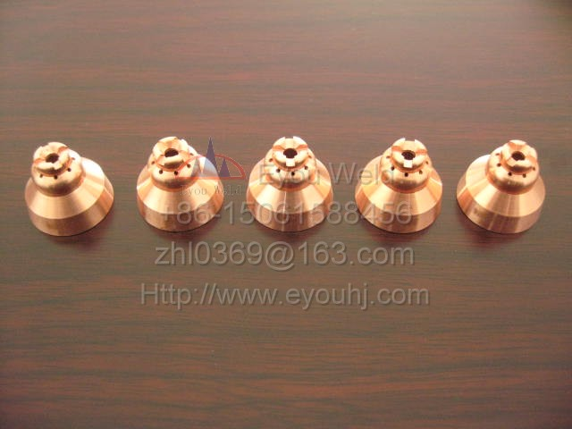 10 pcs 220674 45A shield Parts for Plasma Cutting Machine T45v Hand Torch Consumables PMX45
