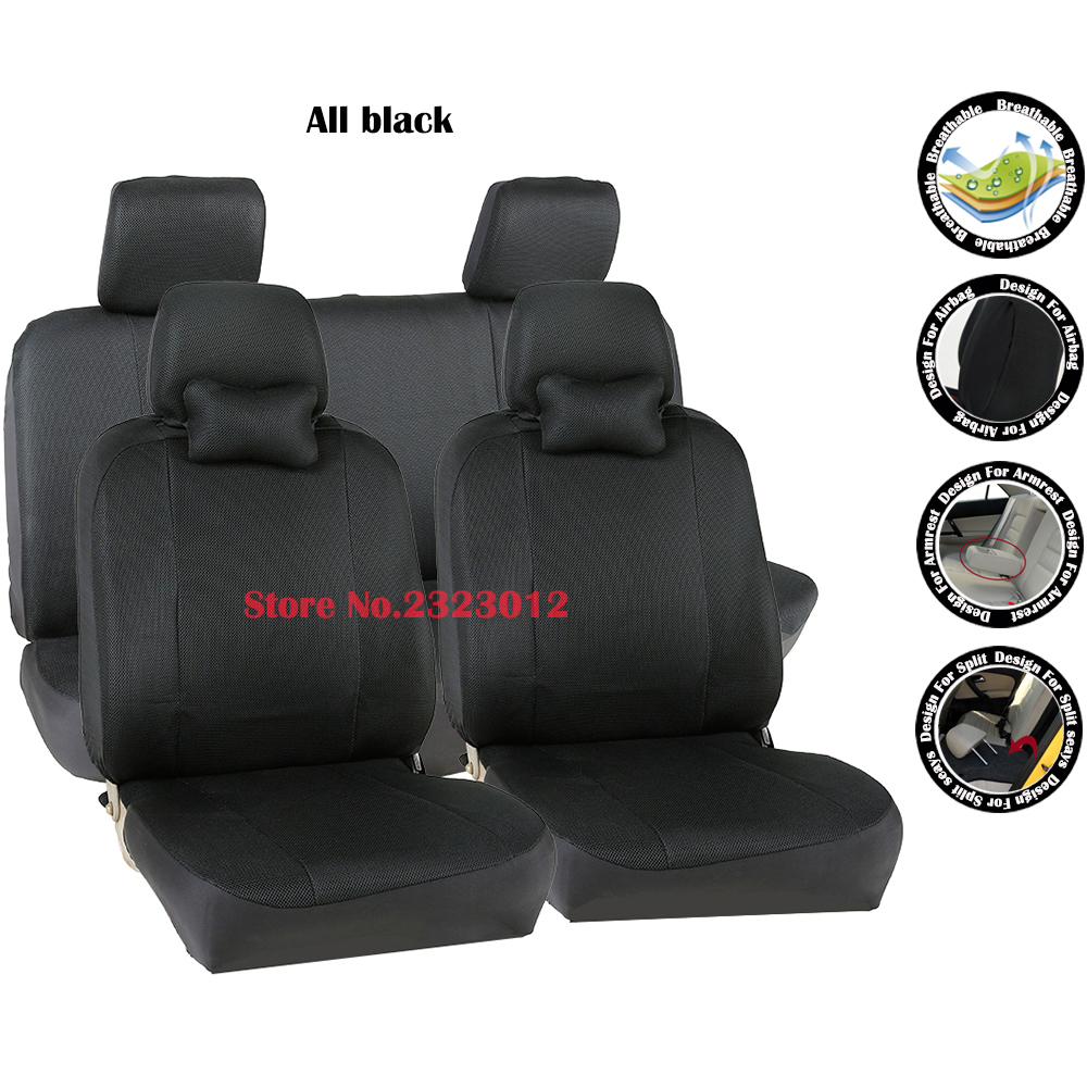 Universal car seat cover For Great Wall Hover H2 H3 H5 H6 M4 Wingle Florid seat covers accessories car-styling black/gray /red universal pu leather car seat covers for toyota corolla camry rav4 auris prius yalis avensis suv auto accessories car sticks
