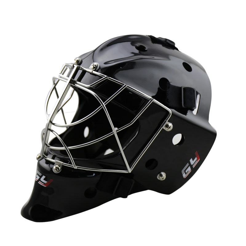 New design High Quality Polycarbonate ice hockey goalie helmet Floorball helemt Hockey Goalie Head Protective for sale цена