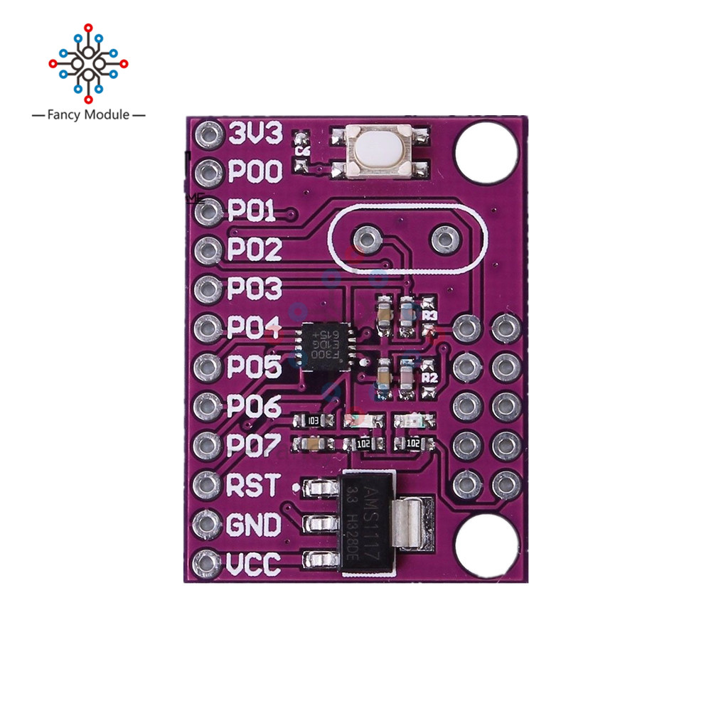 C8051F300 MCU Micro Controller Development Board Module For Industrial Control