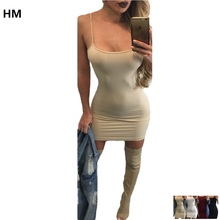 Fashion Sexy Backless Basic Dresses Sleeveless Slim Vestidos Vest Tanks Bodycon Dress Strap Solid love live cyber cartoon dress