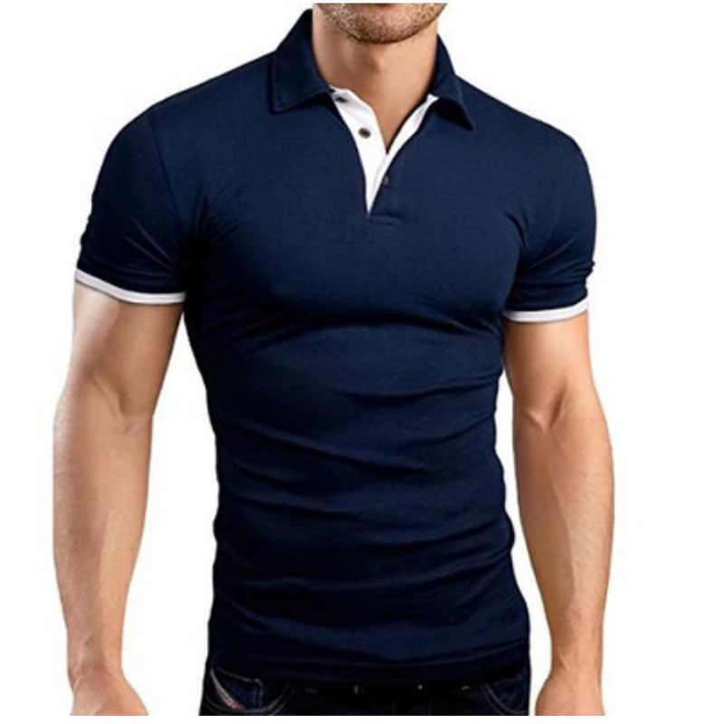 Mode Concise hommes chemise décontracté Slim Fit à manches courtes T petit haut hommes t-shirts nouvel été poleras hombre camiseta MY103