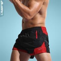 2016 New Quick Dry Surfing Fashion Men S Board Shorts With Inside Mesh Underwear Patchwork Beach