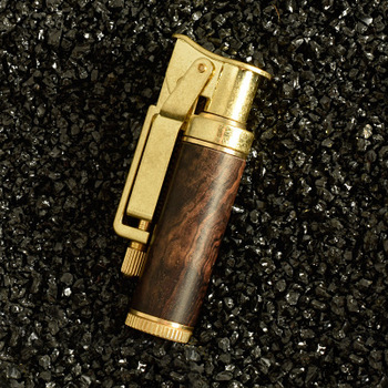 Steampunk Pipe Lighter With Case