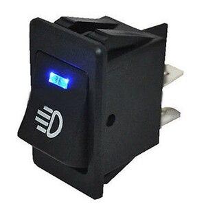 Image 2 - 4 sztuk 12V 35A uniwersalny światło przeciwmgielne samochodu przełącznik kołyskowy LED Dash Dashboard 4Pin
