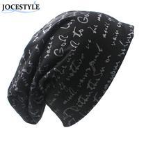 Женщины Мужчины Тонкий Шляпа Мужская Зимняя Вязаная Письмо Печати Хип-Хоп Колпачок для Мужчин Сутулиться Skullies Bonnet Унисекс Шапка Шляпа Gorro