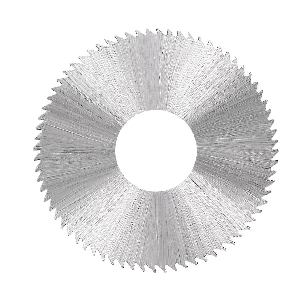 Uxcell 1pcs HSS 72 Tooth Circular Cutting Wheel Saw Blade 30mm OD 0.8mm/1mm/2mm/2.5mm Thick W 10mm Arbor HRC65