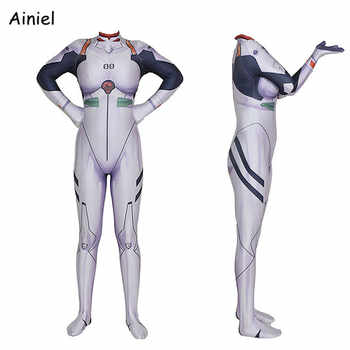 Ainiel Anime NEON GENESIS EVANGELION EVA Cosplay Clothing Ayanami Rei Costume Suit Jumpsuit Bodysuit Halloween Party Woman Kids - Category 🛒 Novelty & Special Use