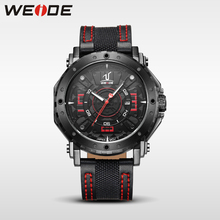 WEIDE luxury brand leather strap quartz shock resistant electronic auto date complete calendar sports clock wrist watch for man weide clock luxury quartz watches men white sports electronic watch leather strap watchbands mehanical hand wind water resistant