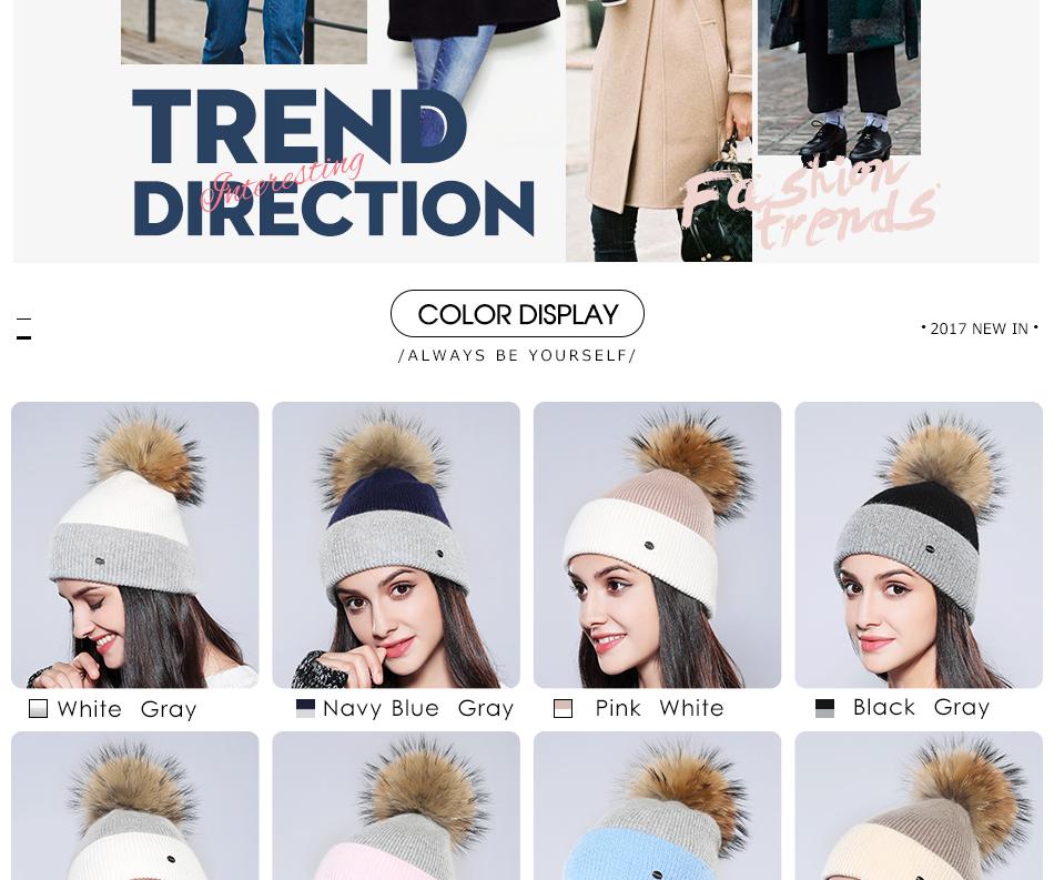 Winter Hat For Women MZ744 (4)