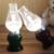 LED Lâmpada de Querosene Sopro Retro Do Vintage Escurecimento Luz Da Noite Da Lâmpada Luzes Decorativas Para Casa Presente
