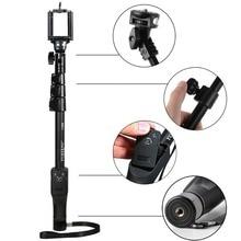 """Yunteng YT-1288 Selfie Stick Bluetooth 50 """"ручной монопод с Bluetooth Пульт дистанционного Управления затвора для сотового телефона Камера GoPro"""