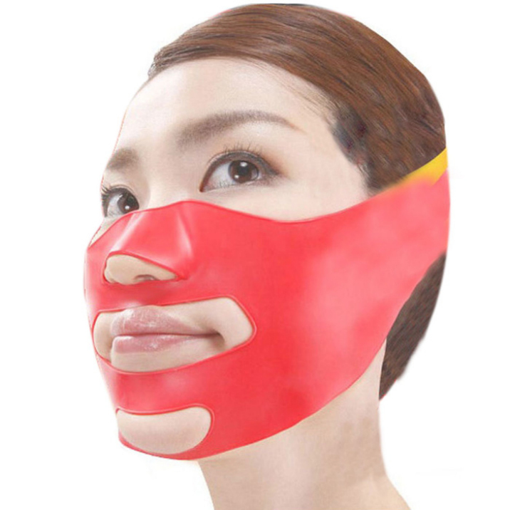 New 3D Face Slimming Shaping Cheek Lift Up Sleeping Belt Strap Scalp Face Shaper Belt Anti Wrinkle Sagging Best Deal 1pcs