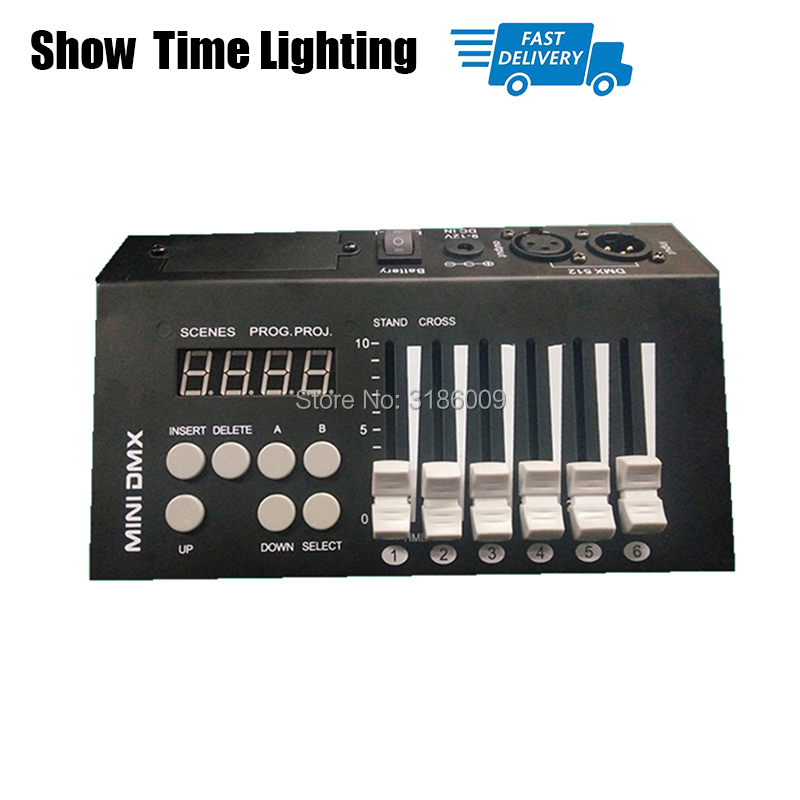Easy To Use With Battery Mini 54 Dmx 512 Controller Stage Lighting Dj Equipment Dmx Console Easy To Carry Mini Controller