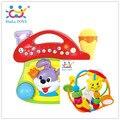 Balle bebe bebe educacional toys chocalhos brinquedo do bebê chocalho instrumento musical frete grátis huile toys 929 & 668