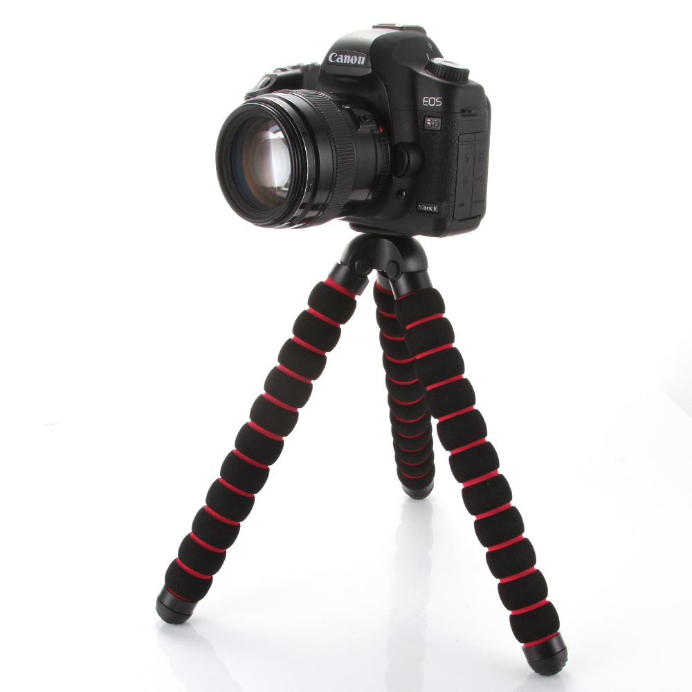 Large Octopus Spider Flexible Tripod Stand 1/4 3/8 Screw Mount for DSLR Camera DV