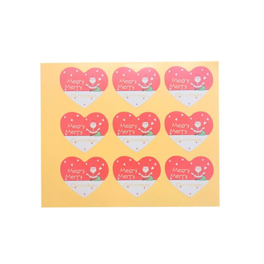 10 pacotes lote boneco de neve padrao amor selo adesivo natal velho cozimento etiqueta de embalagem