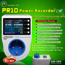 PR10-C EU16A home power metering socket / home energy meter /power recorder / electricity meters/16 currency units