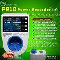 PR10-C EU16A tomada de medição de energia em casa/home energy meter/gravador de energia/electricidade metros/16 unidades da moeda