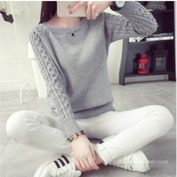 6 Colors Sweaters Women 2017 Hot Sale Winter O Neck Long Sleeve Pullovers Knitted Sweater Female