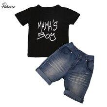 MAMA'S BOY Toddler Kid Baby Boys New 2018 Summer Clothes Sho